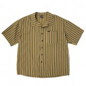 Vertical striped shirt / Yellow