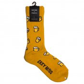 Beer socks / Yellow