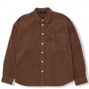 Corduroy Loose Shirt / Brown