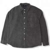 Corduroy Loose Shirt / Gray