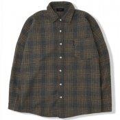 Retro Plaid Shirt / Khaki