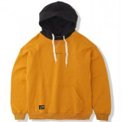 2tone Pullover Hoodie / Yellow