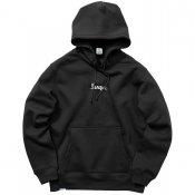 BRICK LOGO HOOD / Black