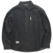 Loose wash denim  / Black