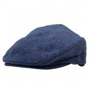 HEMP HUNTING CAP / Navy Blue