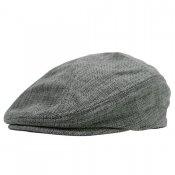 HEMP HUNTING CAP / Silver
