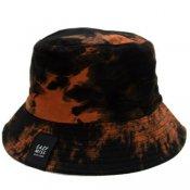 TIE DYE BUCKET HAT / Dark Orange