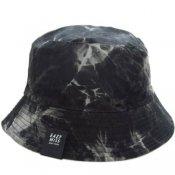 TIE DYE BUCKET HAT / Gray