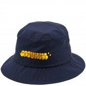 BOMB NYLON BUCKET HAT / Yellow