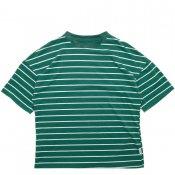 STRIPE T-SHIRT / Green