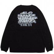 SLD NOISE LONG TEE / Black