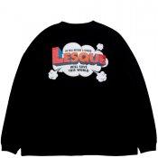 LESQUE POP LOGO LONG TEE / Black