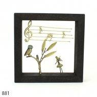 ソナタ・ギャラリー 881「フクロウ&ヴァイオリン」
