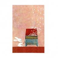 山田和明ポストカード KY013「ヴィヴァルディのうさぎ」