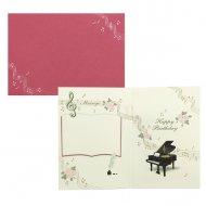オルゴールカード ピアノ
