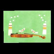 山田和明ポストカード「conversation」