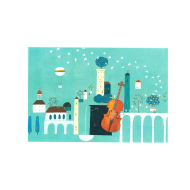 山田和明ポストカード「僕の町に流れるプレリュード」
