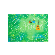 山田和明ポストカード「午後のひととき」