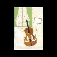 山田和明ポストカード「鳥伴奏チェロ組曲」