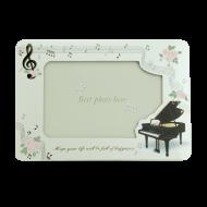 グリーティングカード フォトフレームピアノ