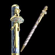 バレエスワロフスキーボールペン