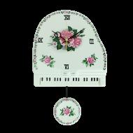 ピアノ振子時計 ローズ