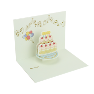 グリーティングカード SMケーキ