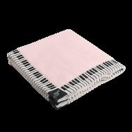 タオルハンカチーフ鍵盤 ピンク