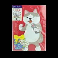 オルゴールカード 演歌ネコ