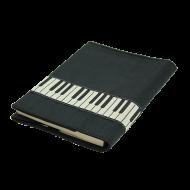 ブックカバー 鍵盤