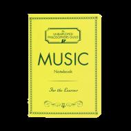 ミュージックノートブック ポケットサイズ