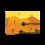 山田和明ポストカード「黄色のフーガ」