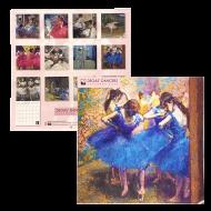 ドガの踊り子カレンダー2020