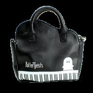 ピアノ風ショルダーバッグ ブラック