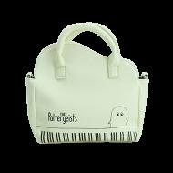 ピアノ風ショルダーバッグ ホワイト