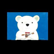 山田和明ポストカード「僕のウクレレ」
