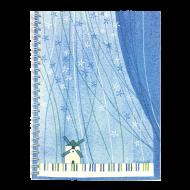 山田和明A5リングノート ピアノ