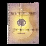 山田和明A5リングノート ギター