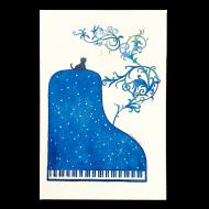 山田和明ポストカード「夜の樹」