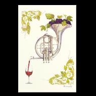 山田和明ポストカード「ワインのための協奏曲」
