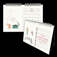 山田和明 2022 卓上カレンダー