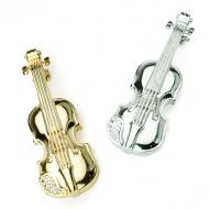 ブローチ25 ヴァイオリン