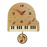 寄せ木振り子時計 ピアノ