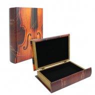 ヴァイオリンブックボックスオープンタイプ