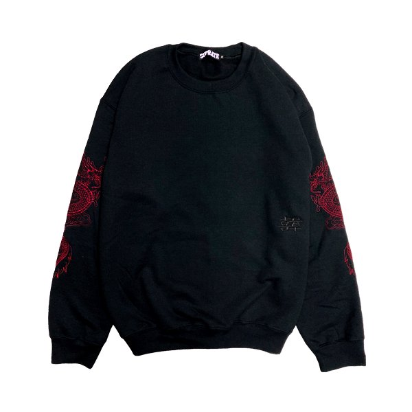 <img class='new_mark_img1' src='https://img.shop-pro.jp/img/new/icons5.gif' style='border:none;display:inline;margin:0px;padding:0px;width:auto;' />Shuāng lóng Crew Neck Sweat
