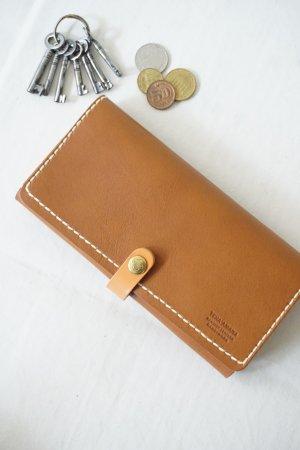 【Teha'amana】2fold Zip Wallet Long