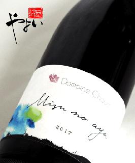 ドメーヌ・ショオ Mizu no Aya -水の綾- カベルネソーヴィニヨン 2017 750ml