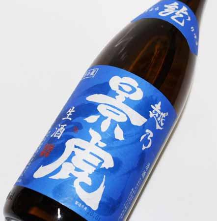 越乃景虎 龍 生酒1800ml