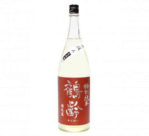 鶴齢 直汲み越淡麗 特別純米酒生原酒 1.8L