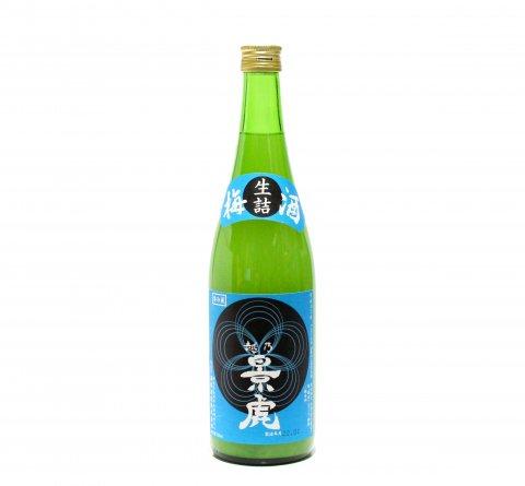越乃景虎 かすみ梅酒 720ml (令和3年1月蔵出し)